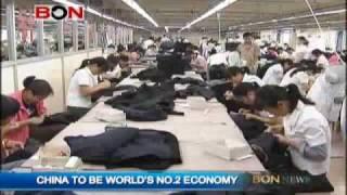 China To Be World's No.2 Economy - BON TV