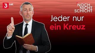 Sebastian Pufpaff – Katholische Kirche lehnt Kreuz ab