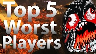 TOP 5 Worst Zombies Players in
