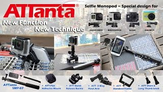 Download Video ATTanta SMP-07 for Action Camera - GoPro Hero, Xiaomi Yi, SJCam, Brica, Etc MP3 3GP MP4