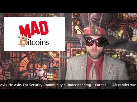 DATA Plans For Bitcoin Regulations -- Khan Academy Accepts Bitcoins -- CryptoStreet US Exchange!
