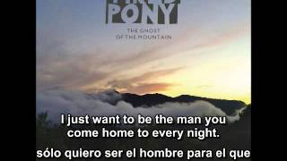 Tired Pony - I don't want you as a ghost (lyrics - letra)