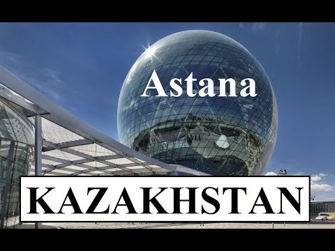Kazakhstan/Astana Panoramic View from Nur Alem Expo Pavilion Part 24
