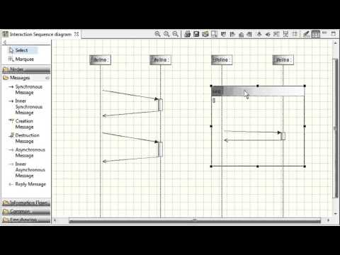 Modelio move elements in an uml sequence diagram youtube modelio move elements in an uml sequence diagram ccuart Choice Image