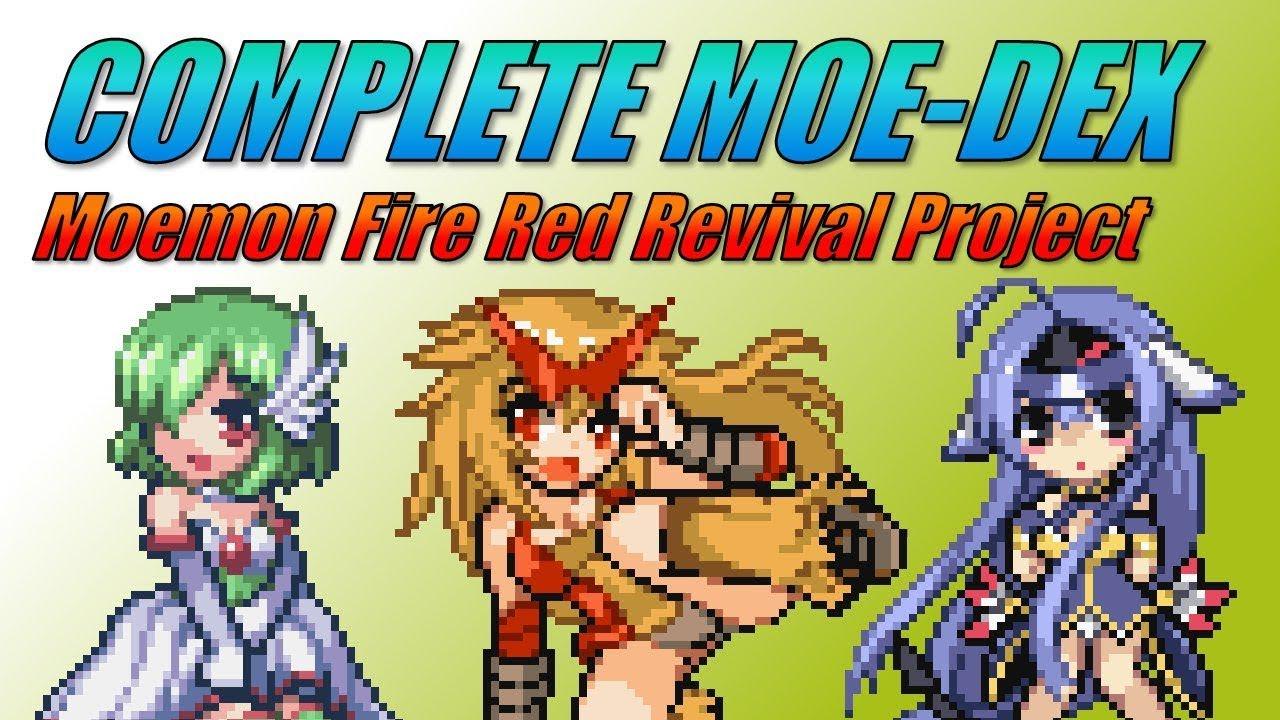 mega moemon fire red download