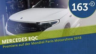Mercedes Benz EQC 400 - Premiere auf der Mondial Paris Motorshow 2018
