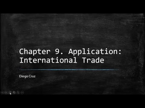Chapter 9. Application: International Trade. Principle of Economics. Gregory Mankiw