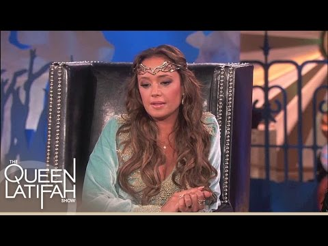 Web Extra: Leah Remini Talks Recent Accident With Jennifer Lopez | The Queen Latifah Show
