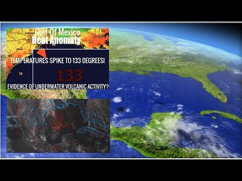 """Evidence Warned Growing That Gulf Of Mexico """"Supervolcano"""" May Be Preparing to Erupt"""