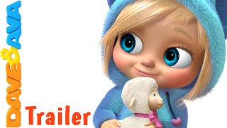 Mary Had a Little Lamb - Trailer | #NurseryRhymes and #BabySongs from Dave and Ava