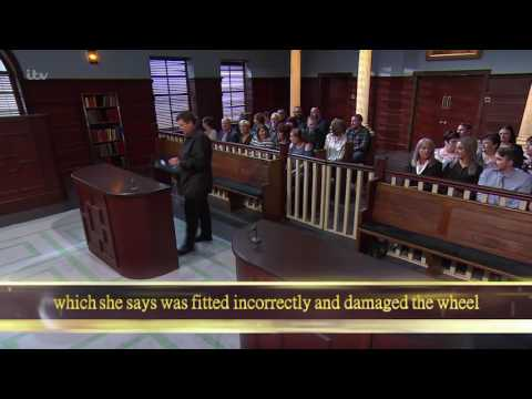 Jackie And Imran Enter The Courtroom  Judge Rinder