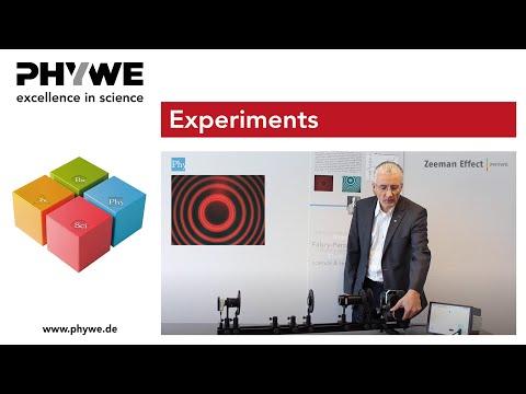 PHYWE: Zeeman effect