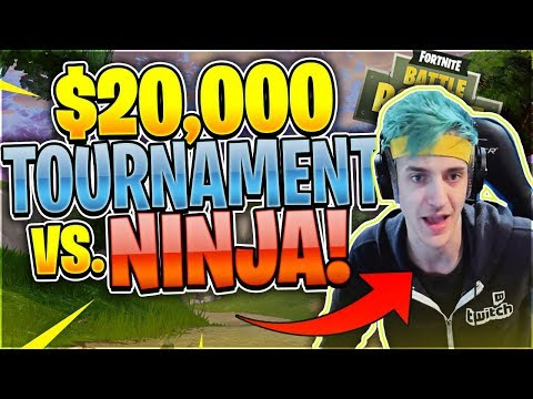 Nickmercs VS. Ninja $20,000 Tournament Matchup (Fortnite Battle Royale)