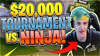 Nickmercs VS. Ninja $20,000 Tournament Matchup (Fortnite Battle Royale)