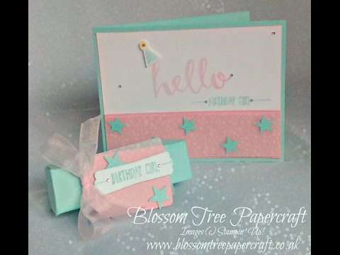 Stampin' Up! | Hello Birthday Girl Card from Sale-A-Bration