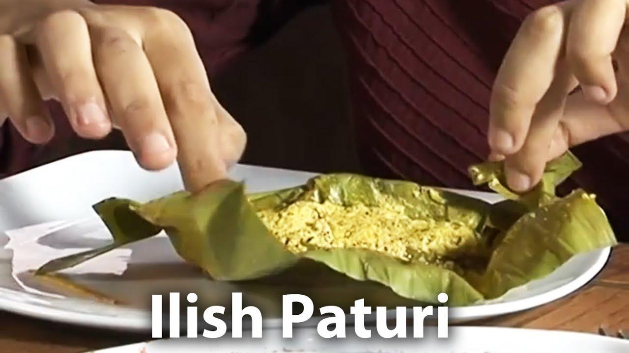 Ilish paturi kolkata bengali cuisine must watch youtube forumfinder Images
