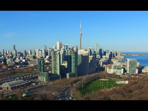 The Most Beautiful Aerial Views Of The Lakeshore Toronto 4K UHD