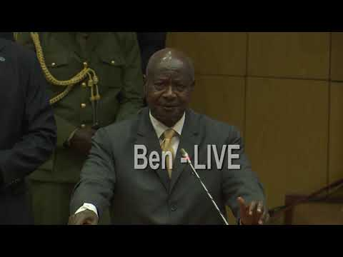 Musevenis Shortest speech ever in history as President of Ug