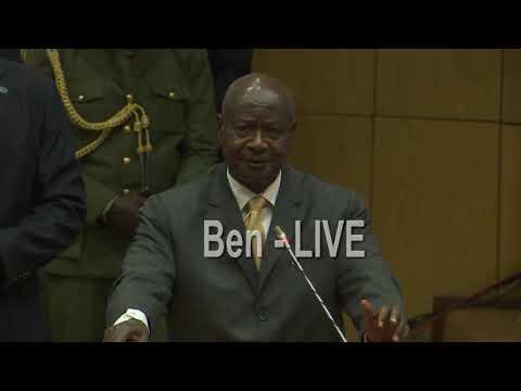 Musevenis Shortest speech ever in history as President of Uganda