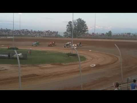World of Outlaws Dash  Lawrenceburg Speedway
