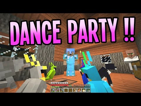 Jukebox Party Parrots!! - Paul Plays Minecraft - Ep. 35 - Let's Play Minecraft 1.12 Survival