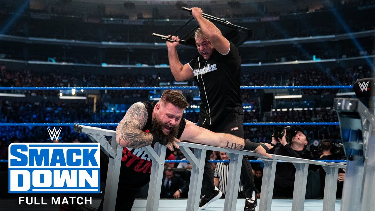 FULL MATCH - Kevin Owens vs. Shane McMahon - Ladder Match: SmackDown, Oct. 4, 2019