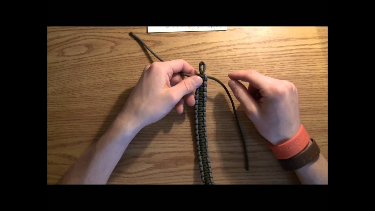 how to make a paracord bracelet with buckle how to make a paracord bracelet without a buckle 837