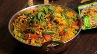 Gobble| Veg Biryani In Pressure Cooker | Vegetarian Recipes