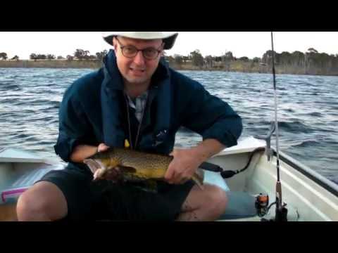 Trout Fishing Lake Toolondo