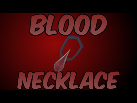 Blood Necklace Review: New Best Amulets in Game? [Runescape 2014]