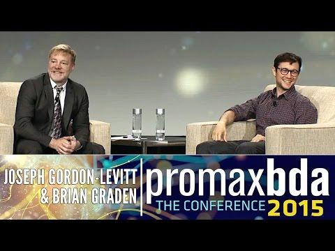 Joseph Gordon-Levitt and Brian Graden // 2015 ProMax Conference