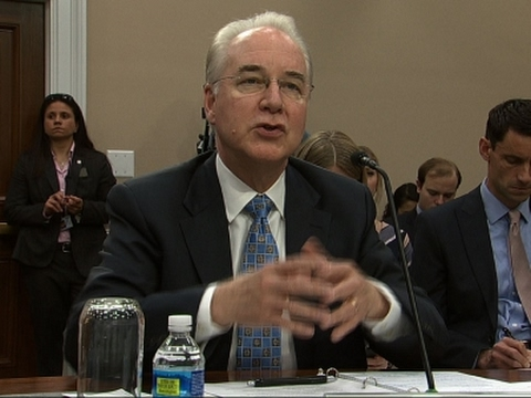 Price Questioned on NIH Cuts, Obamacare Repeal