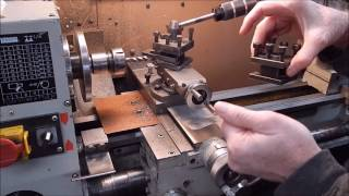 Simple horizontal milling on a metal lathe