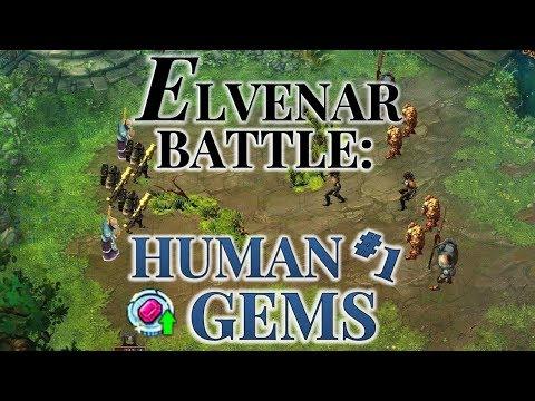 Elvenar Battle - Human's Gems Tournament #1