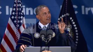 OBAMA COMMENCEMENT ADDRESS-HOPE FOR FUTURE