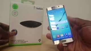Samsung Galaxy S6/S6 Edge Wireless Charger  Unboxi