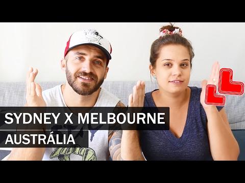 MELBOURNE VS SYDNEY | #89 | MORAR NA AUSTRÁLIA | OI AUSTRÁLIA