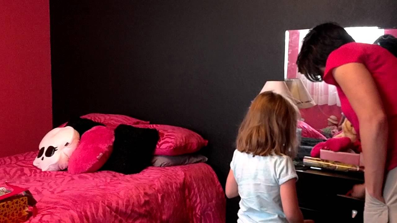 Presleighs Room Make Over Monster High Theme You