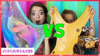 Mermaid Slime Vs Robot Slime / JustJordan