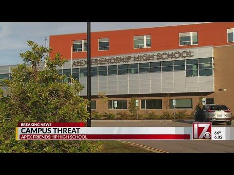 Threat of violence at Apex Friendship school found on bathroom wall