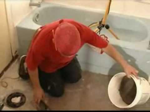 Floor Tile Mortar Part 4 How To Spread Tile Mortar Youtube