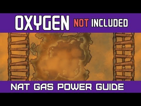 Oxygen Not Included | Natural Gas Tutorial