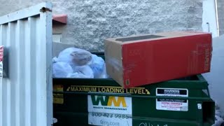 AMAZING DAY OF DUMPSTER DIVING! STAPLES DUMPSTER IS LOADED!!!