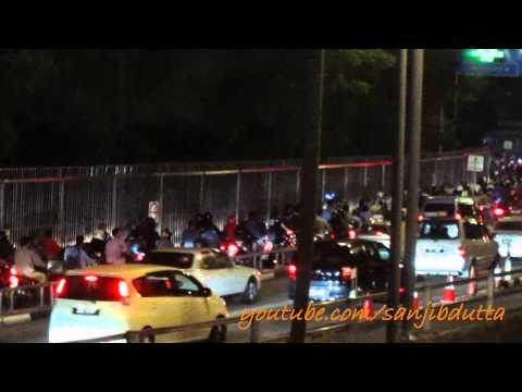 Malaysia-Singapore border crossing (Johor-Singapore Causeway)