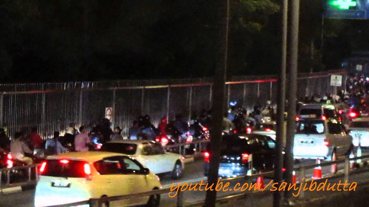 Malaysia Singapore Border Crossing Johor Causeway
