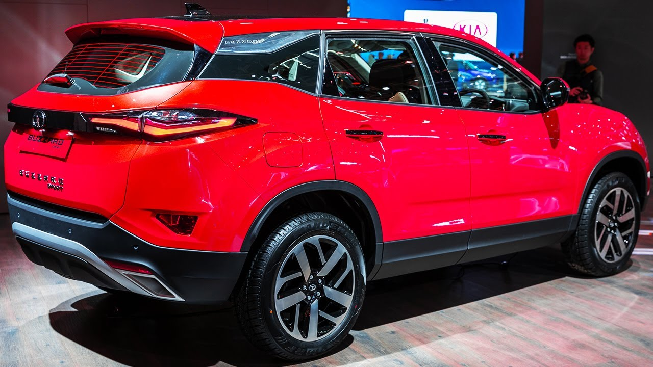 2020 Bs6 Tata Harrier Auto New Features And Price Best Indian Suv Youtube