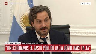 """Santiago Cafiero:""""Hay recursos fiscales para las PyMEs y comercios"""""""