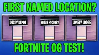 I took the OG FORTNITE TEST and this is how it went...