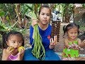 Awesome Cooking Dried Fish With Vegetables Delicious Recipes-Vegetables Recipes-Village Food Factory
