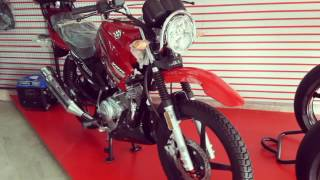 Yamaha YBR 125G REVIEW